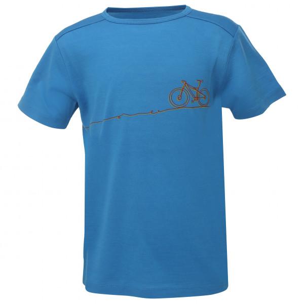 #Stoic – Kid's T150 Merino S/S CykelSt. – T-Shirt Gr 104;116;128;140;152;164;92 oliv/grün;blau#