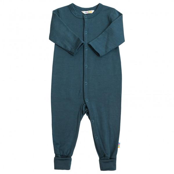 Joha - Kid's Jumpsuit 2 in 1 Foot - Overall Gr 100;70;80;90 blau;braun/rot 38083