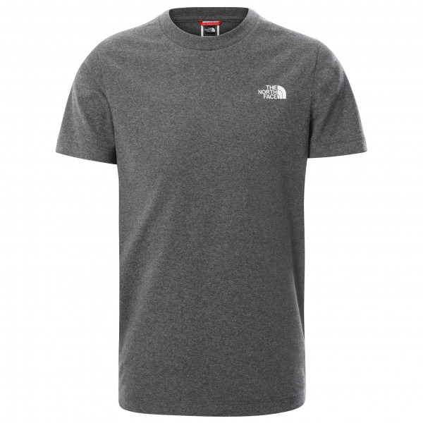 The North Face - Youth S/s Simple Dome Tee Mix - T-shirt Size Xl  Black/grey