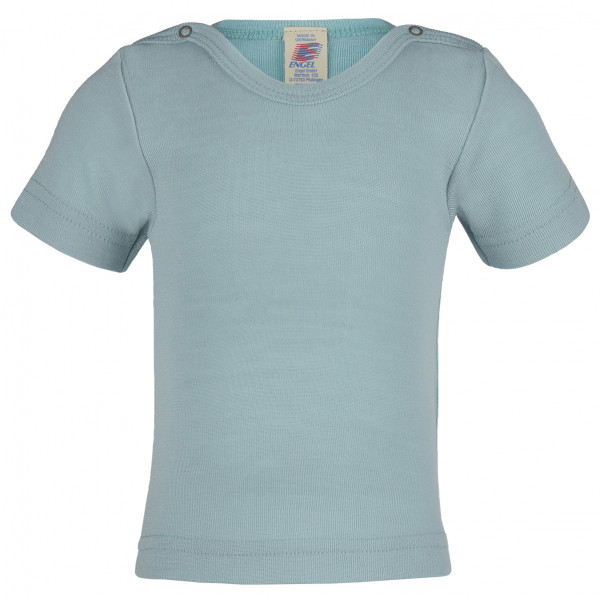 Engel - Baby-Shirt S/S - Merinoshirt Gr 50/56;86/92 grau 707020