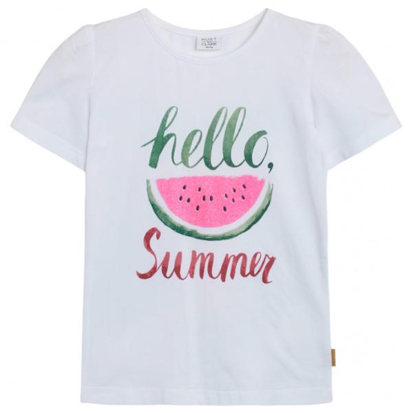 Hust&Claire - Claire Kid's Adane - T-Shirt Gr 134 grau 00495 22411