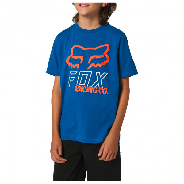Fox Racing - Kids Hightail S/s Tee - T-shirt Size S  Blue/black