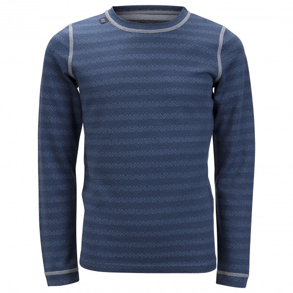 #Ulvang – Junior 50Fifty 3.0 Round Neck – Merinounterwäsche Gr 12Y blau#