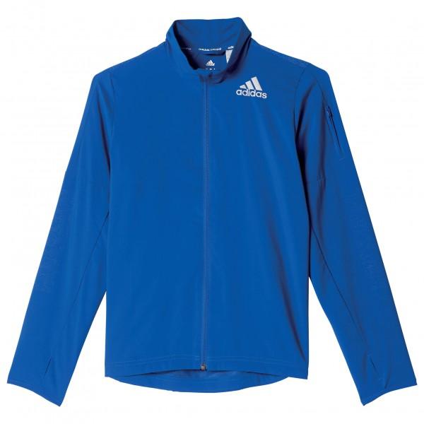 adidas Running Boys Wind Breaker Joggingjack maat 176 blauw