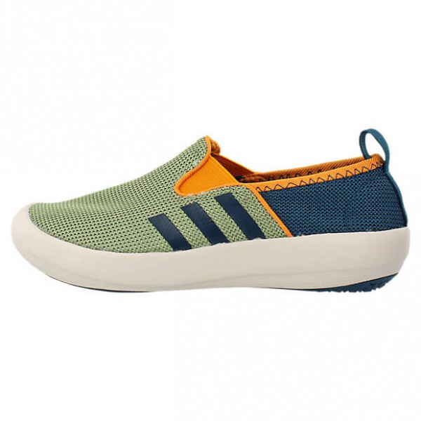 Adidas Kid´s Boat Slip-On Watersportschoenen maat 33 green-orange