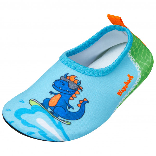 Playshoes - Kids Barfu-schuh Dino - Water Shoes Size 28/29  Turquoise/blue
