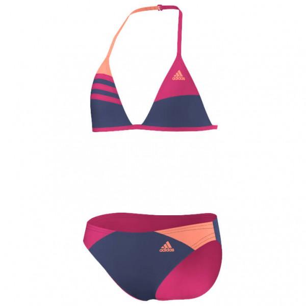 adidas Kid´s 3S Colorblock Bikini Girl´s Bikini maat 116 purple-orange
