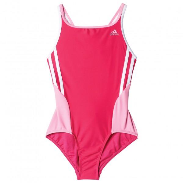 adidas Back To School Suit 3 Stripes Girls Badpak maat 170 roze