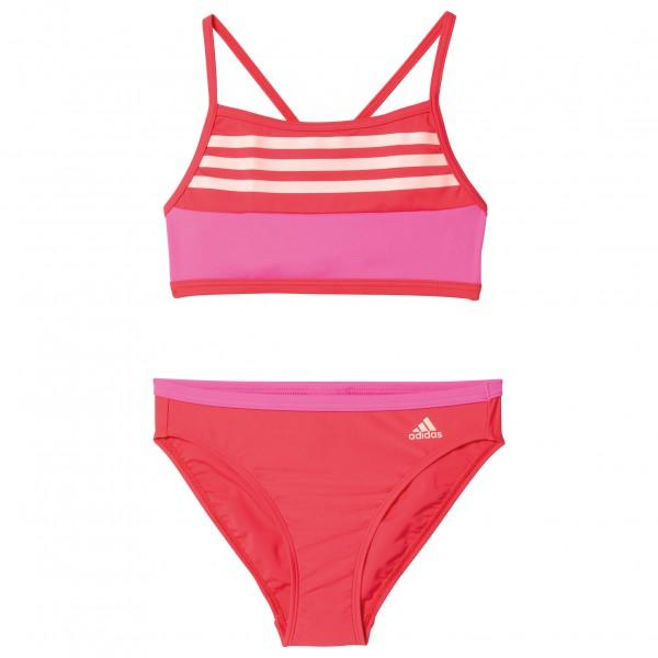 adidas Girl´s By 3S CB Bikini Bikini maat 140 rood-roze