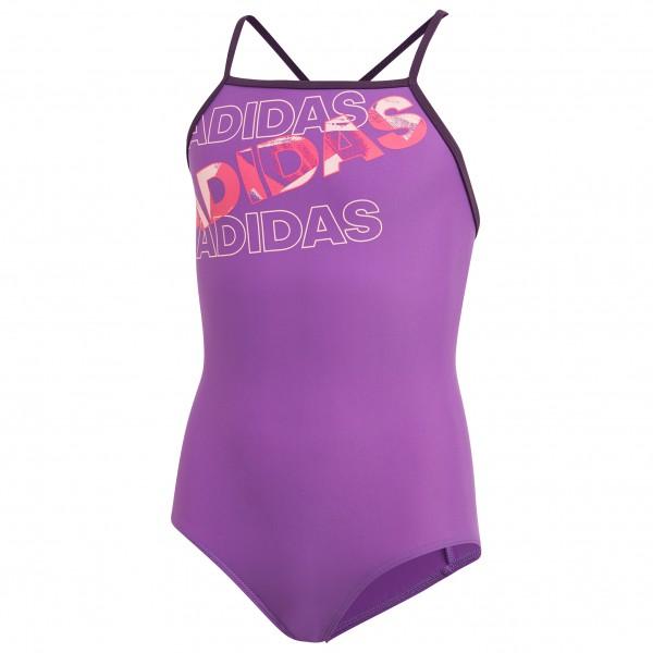 adidas - Kid´s Lineage Suit - Bikini Gr 140 lila/rosa Preisvergleich