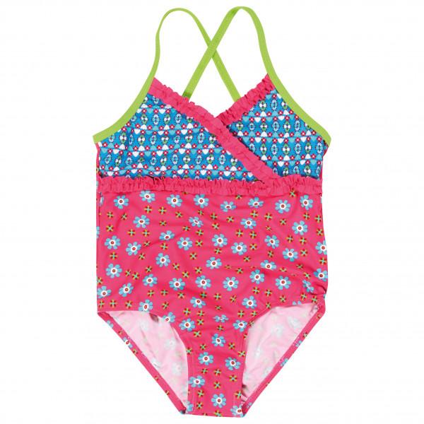 Playshoes - Kid's UV-Schutz Badeanzug Blumen - Badeanzug Gr 110/116 rosa 460273-18