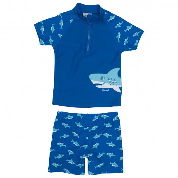 #Playshoes – Kid's UV-Schutz Bade-Set Hai – Badehose Gr 110/116;122/128;134/140;98/104 blau#