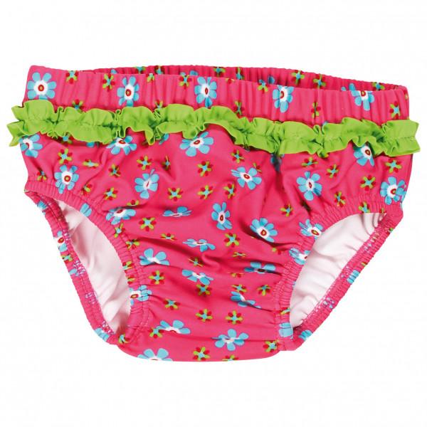 Playshoes - Kids Uv-schutz Windelhose Blumen - Swim Brief Size 62/68  Pink