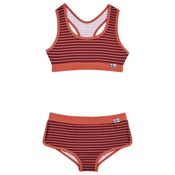 Finkid - Kids Luoto - Bikini Size 90/100  Red/pink