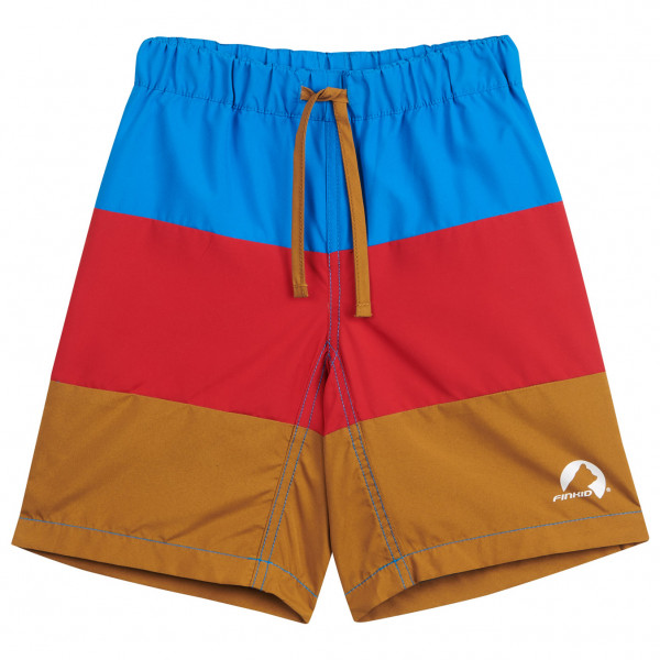 #Finkid – Kid's Uimari – Boardshorts Gr 80/90 braun/rot/blau#