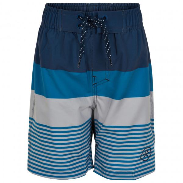 Color Kids - Kids Swim Shorts Striped - Boardshorts Size 116  Blue/grey