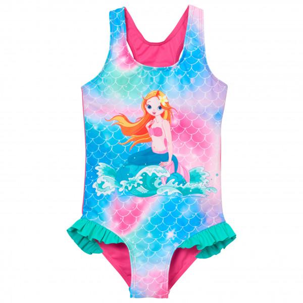 Playshoes - Kid's UV-Schutz Badeanzug Meerjungfrau - Badeanzug Gr 122/128 rosa/türkis 46126318122/128