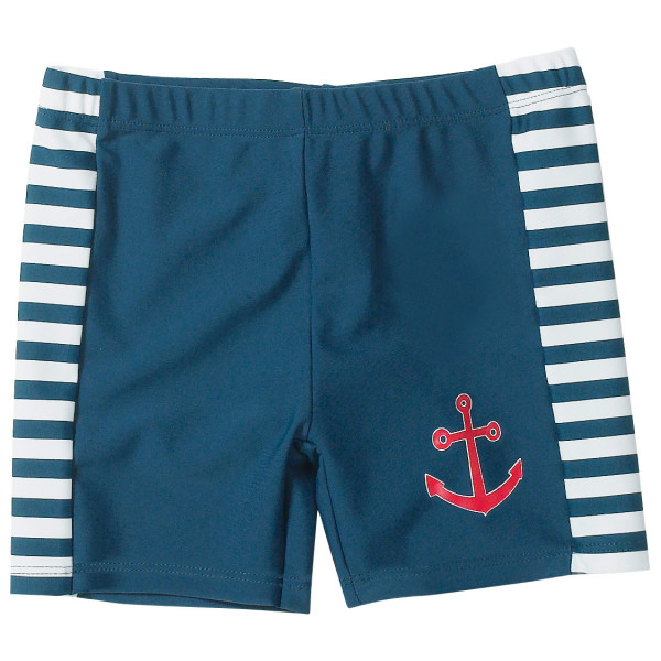 Playshoes - Kids Uv-schutz Badeshorts Maritim - Swim Brief Size 86/92  Blue