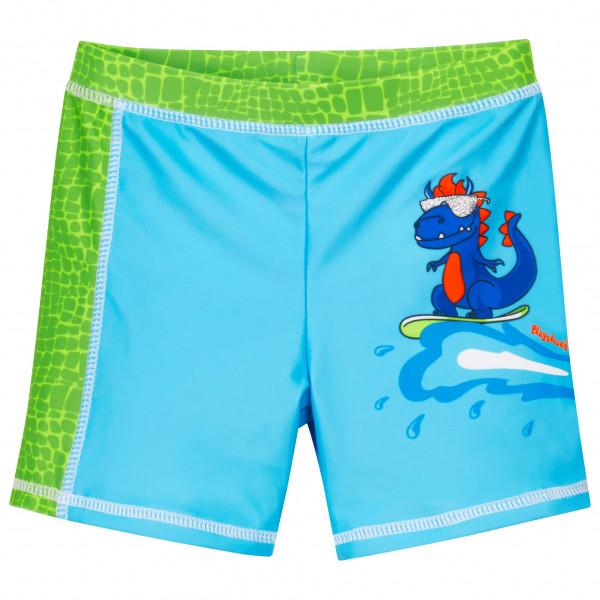 Playshoes - Kids Uv-schutz Shorts Dino - Swim Brief Size 98/104  Turquoise/green