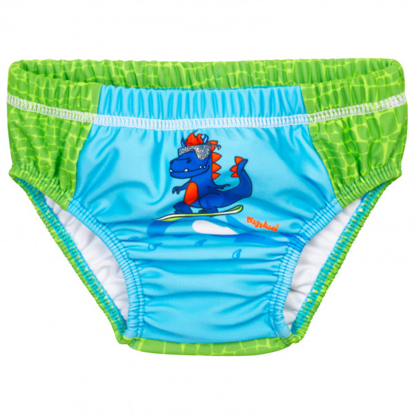 Playshoes - Kids Uv-schutz Windelhose Dino - Swim Brief Size 86/92  Turquoise/green