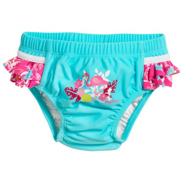 Playshoes - Kid's UV-Schutz Windelhose Flamingo - Badehose Gr 74/80;86/92 türkis 461200