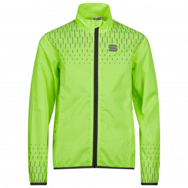 Sportful - Kids Reflex Jacket - Cycling Jacket Size 14 Years  Yellow