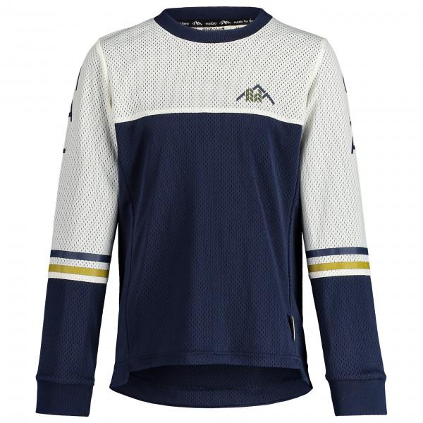 Maloja - Kids Heckrosenu. - Cycling Jersey Size L  Black/grey/blue
