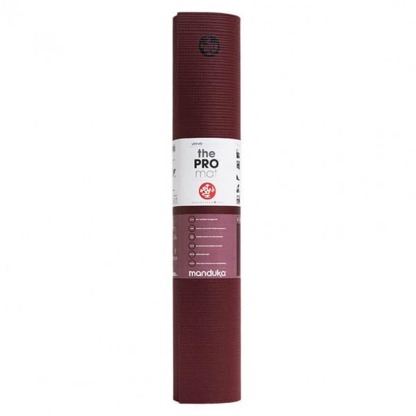 Manduka - Manduka PRO - Yogamatte Gr 180 cm - 6 mm rot/lila 111011Z30