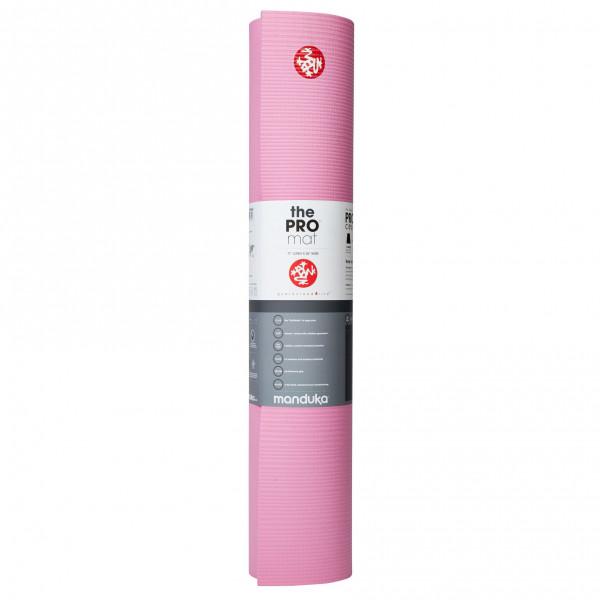 Manduka - Manduka PRO - Yogamatte Gr 180 cm - 6 mm rosa/grau 111011118