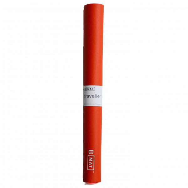BYoga - Traveller - Yogamatte Gr 180 cm x 66 cm x 2 mm rot BYM3007