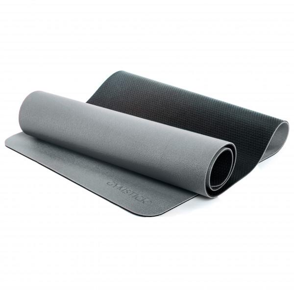 Gymstick - Yogamatte Pro - Yogamatte Gr 190 x 61 cm grau/schwarz CS-2230