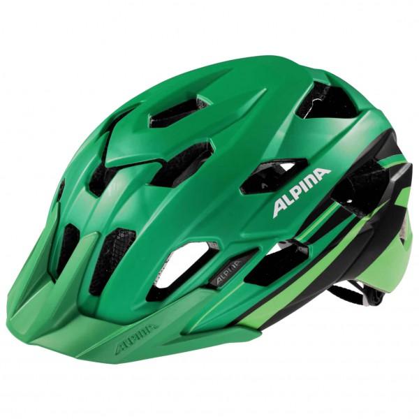 Alpina - Yedon L.E. Radhelm Gr 53-57 cm grün/oliv/schwarz Sale Angebote Nievern