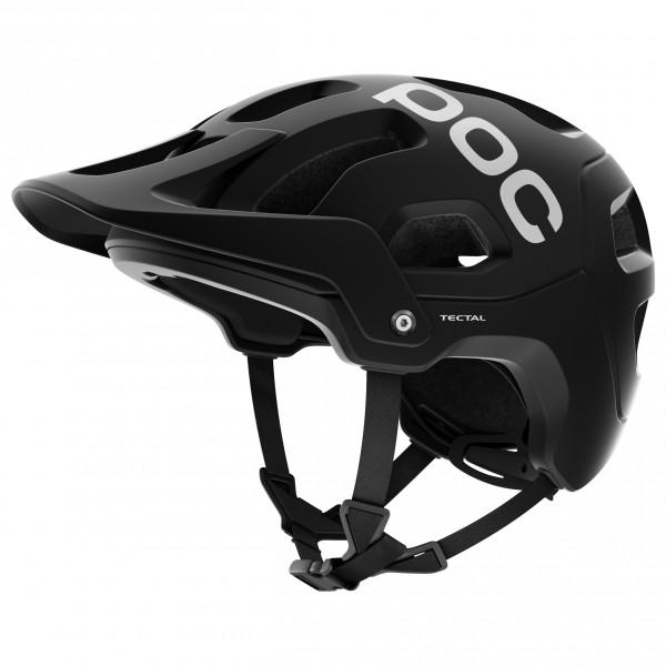 POC - Tectal - Casco de ciclismo size M/L - 55-58 cm;XL/XXL - 59-62 cm, negro/gris;gris/negro