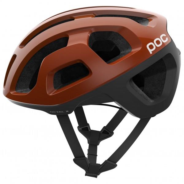POC - Octal X - Casco de ciclismo size S - 50-56 cm, negro/marrón