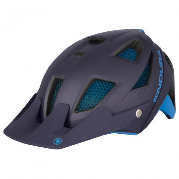 Endura - MT500 Helm - Casco de ciclismo size L-XL, negro/azul