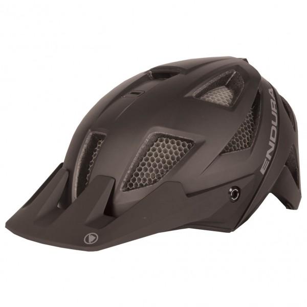 Endura - MT500 Helm - Casco de ciclismo size S-M, negro/marrón
