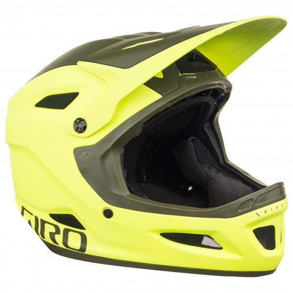Giro - Disciple MIPS - Casco de ciclismo size M, amarillo/negro/oliva