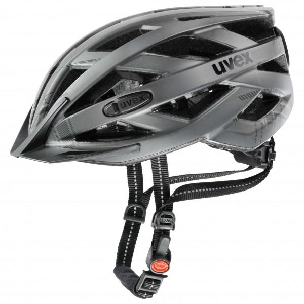 Uvex - City I-vo - Bike Helmet Size 56-60 Cm  Grey/black