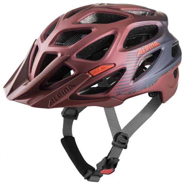 Alpina - Mythos 3.0 L.E. - Casco de ciclismo size 57-62 cm, negro/gris/rojo