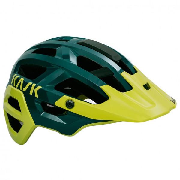 Kask - Rex - Casco de ciclismo size M - 48-58 cm, negro/amarillo/oliva