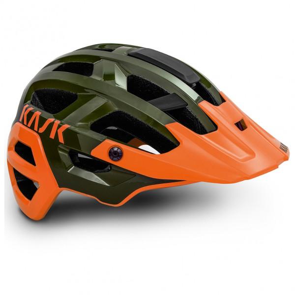 Kask - Rex - Casco de ciclismo size M - 48-58 cm, naranja/negro/oliva/gris