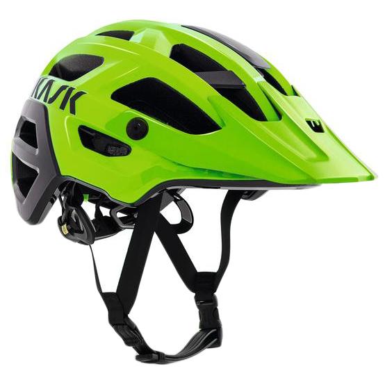 Kask - Rex - Casco de ciclismo size M - 48-58 cm, verde/negro