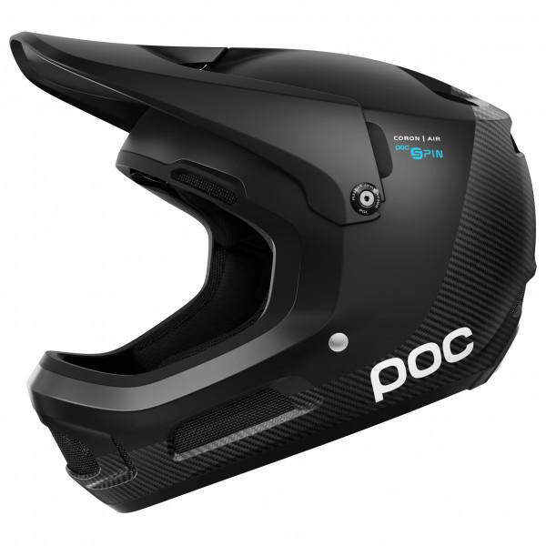 POC - Coron Air Carbon SPIN - Casco de ciclismo size M-L - 55-58 cm, negro