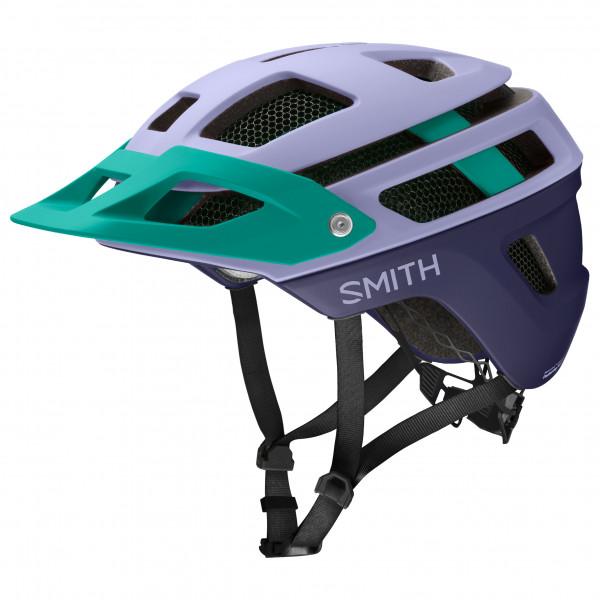 Smith - Forefront 2 MIPS - Casco de ciclismo size 51 - 55 cm, negro/gris/turquesa