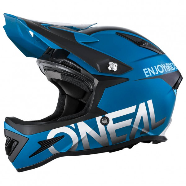 Oneal warp fidlock blocker cara completa casco azul xl 61 62 cm - O'Neal