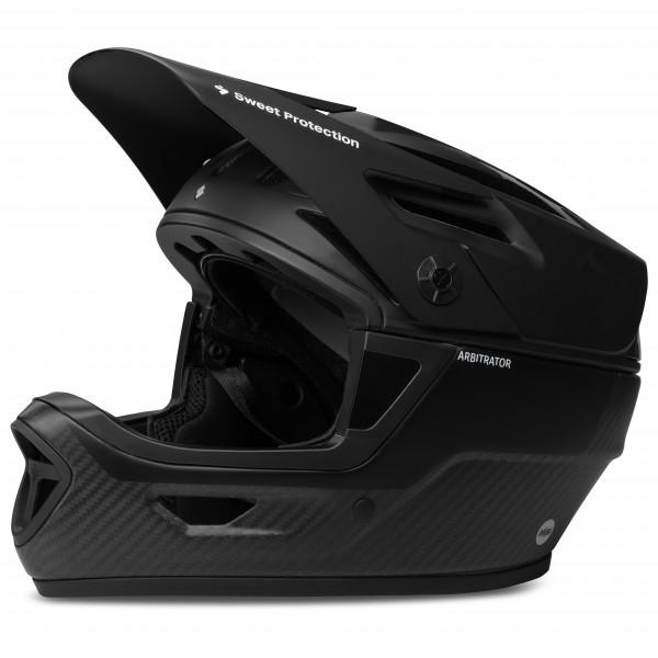 Sweet Protection - Arbitrator Mips Helmet - Casco de ciclismo size S/M, negro/gris