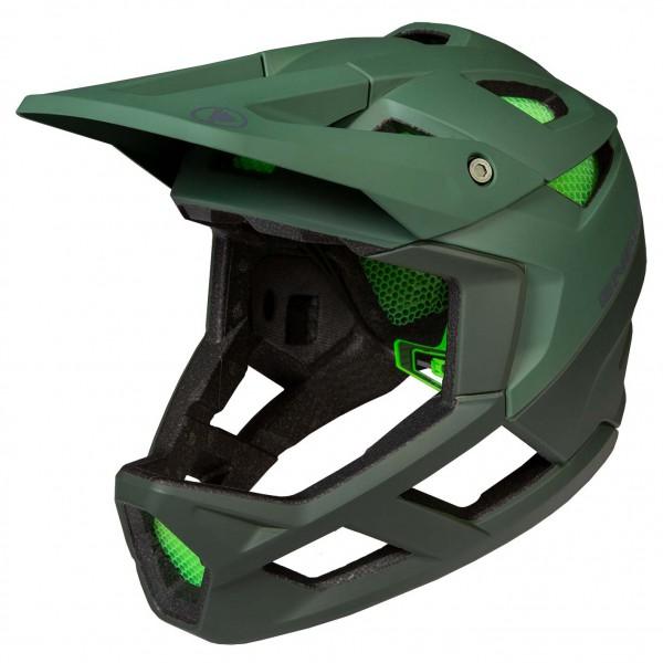 Endura - MT500 Full Face Helm - Casco de ciclismo size L-XL;M-L, naranja/rojo/negro;negro