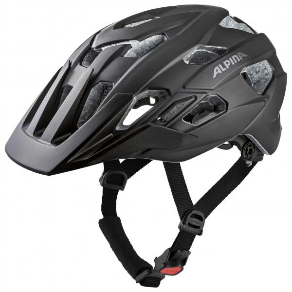 Alpina - Anzana L.E. - Casco de ciclismo size 57-61 cm, negro/gris