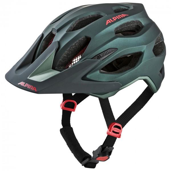 Alpina - Carapax 2.0 - Casco de ciclismo size 57-62 cm, negro/gris