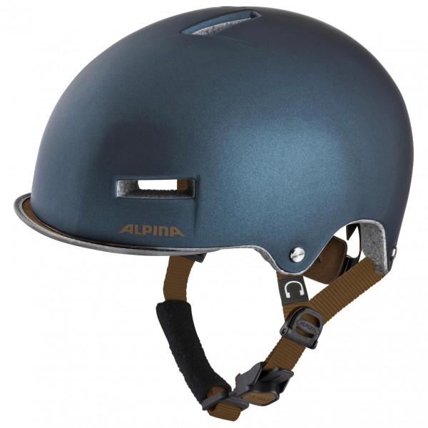 Alpina - Grunerlokka - Casco de ciclismo size 57-61 cm, negro/gris